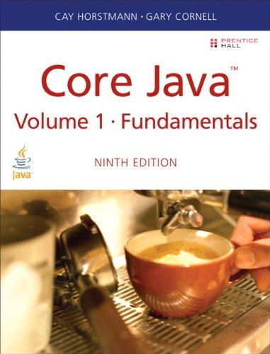 Core Java Volume I--Fundamentals  9th 2013 edition cover