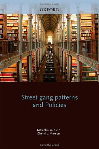Street Gang Patterns and Policies   2010 9780199742899 Front Cover