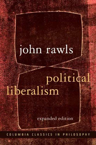Political Liberalism  2nd 2005 (Enlarged) edition cover