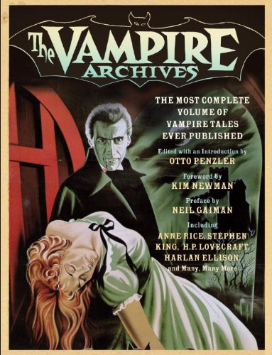 Vampire Archives The Most Complete Volume of Vampire Tales Ever Published  2009 edition cover