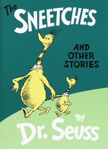 Sneetches and Other Stories   1989 9780394800899 Front Cover