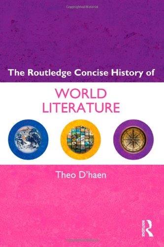 Routledge Concise History of World Literature   2012 edition cover