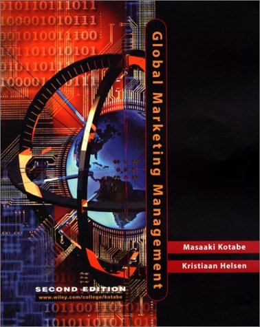 Global Marketing Management  2nd 2001 edition cover