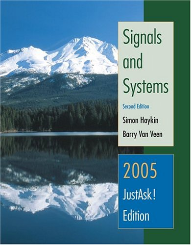 Signals and Systems, 2005 Interactive Solutions Edition  2nd 2005 (Revised) edition cover
