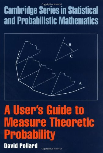 User's Guide to Measure Theoretic Probability   2002 edition cover
