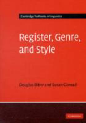 Register, Genre, and Style   2009 edition cover
