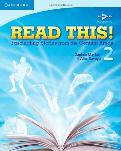 Read This! Level 2 Fascinating Stories from the Content Areas  2010 (Student Manual, Study Guide, etc.) 9780521747899 Front Cover