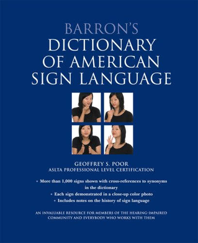 Barron's Dictionary of American Sign Language  N/A edition cover