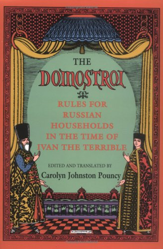Domostroi Rules for Russian Households in the Time of Ivan the Terrible  1994 edition cover