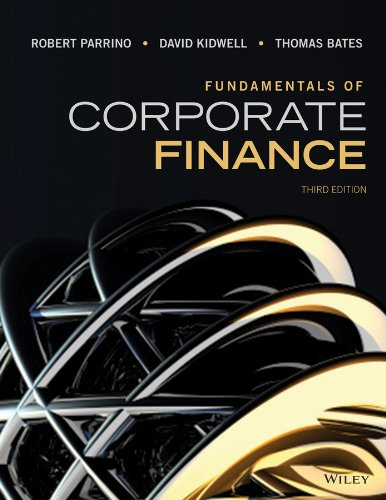 Fundamentals of Corporate Finance  3rd 2015 9781118845899 Front Cover