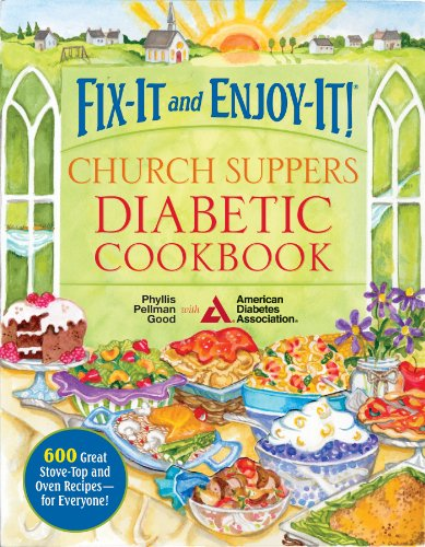 Fix-It and Enjoy-It Church Supper Diabetic Cookbook:   2013 edition cover