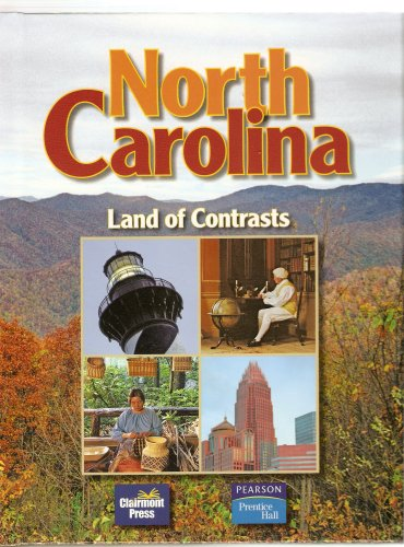NORTH CAROLINA LAND OF CONTRAS N/A 9781567331899 Front Cover