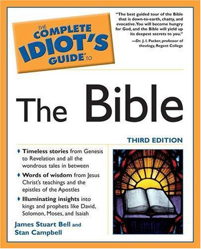 Complete Idiot's Guide to the Bible  3rd 2005 (Revised) edition cover