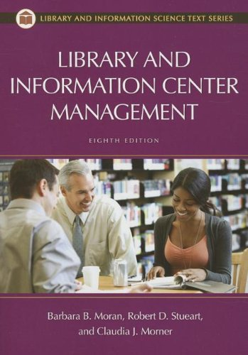 Library and Information Center Management  8th 2013 edition cover