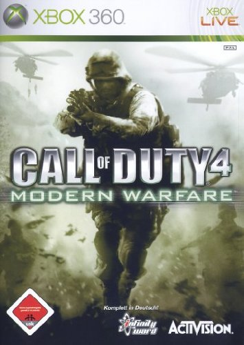 Call of Duty 4 Modern Warfare (Xbox360) Xbox 360 artwork
