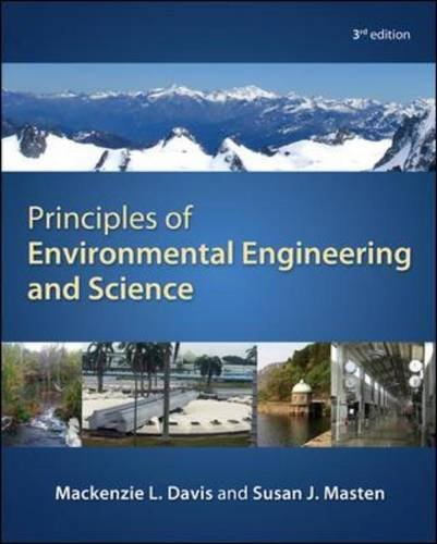 Principles of Environmental Engineering and Science  3rd 2014 9780073397900 Front Cover
