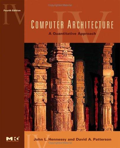 Computer Architecture A Quantitative Approach 4th 2006 edition cover