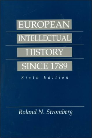 European Intellectual History Since 1789  6th 1994 edition cover