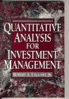Quantitative Analysis for Investment Management  1st 1996 9780133196900 Front Cover