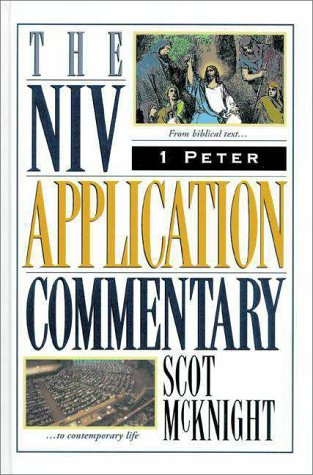 Niv Application Commentary 1 Peter   1996 edition cover