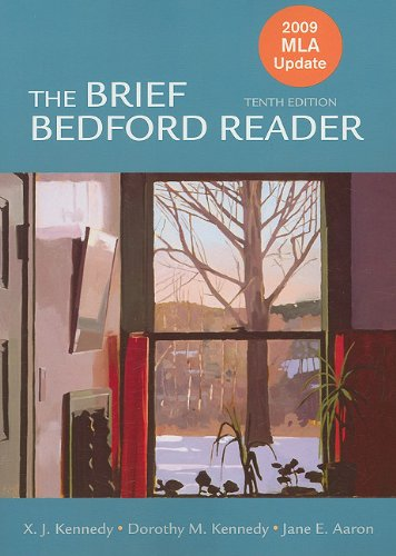 Brief Bedford Reader with 2009  10th (Revised) edition cover