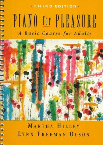 Piano for Pleasure  3rd 1998 edition cover