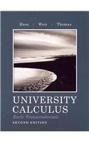 University Calculus Early Transcendentals 2nd 2012 9780321759900 Front Cover