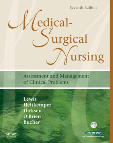 Medical-Surgical Nursing Assessment and Management of Clinical Problems 7th 2007 (Revised) 9780323036900 Front Cover