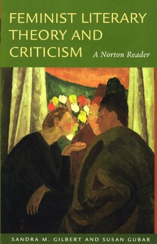 Feminist Literary Theory and Criticism A Norton Reader  2007 edition cover