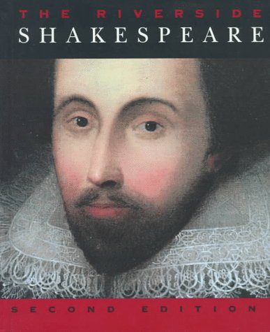 Riverside Shakespeare  2nd 1997 edition cover