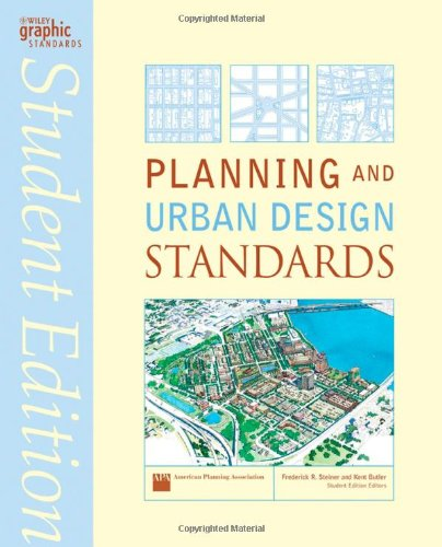 Planning and Urban Design Standards   2007 (Student Manual, Study Guide, etc.) 9780471760900 Front Cover