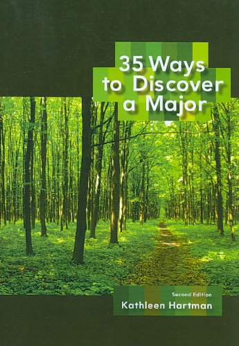 35 Ways to Discover a Major  2nd 2010 9780547199900 Front Cover