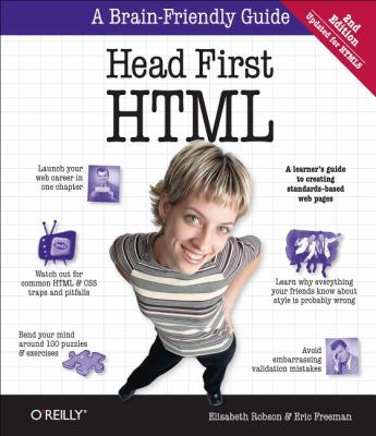 Head First HTML and CSS  2nd 2012 edition cover