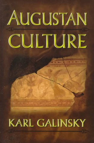 Augustan Culture An Interpretive Introduction  1996 edition cover
