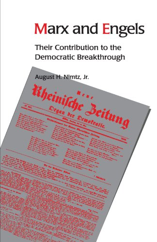 Marx and Engels Their Contribution to the Democratic Breakthrough  2000 edition cover
