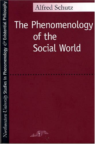 Phenomenology of the Social World  N/A edition cover