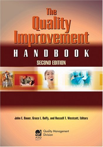 Quality Improvement Handbook  2nd 2006 edition cover