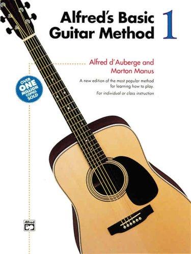 Alfred's Basic Guitar Method, Bk 1   1966 (Revised) edition cover