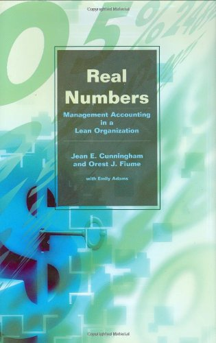 Real Numbers Management Accounting in a Lean Organization  2003 edition cover