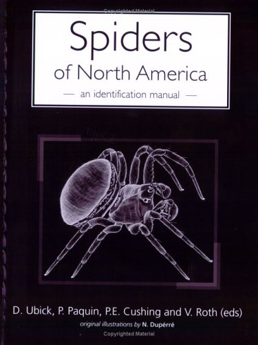 Spiders of North America An Identification Manual  2009 9780977143900 Front Cover