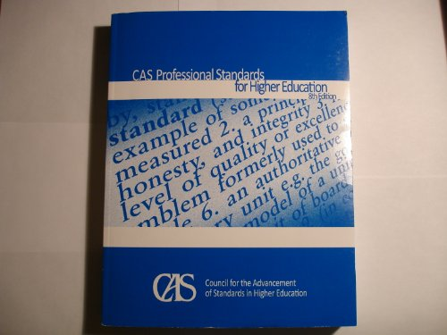CAS PROFESSIONAL STANDARDS F/H N/A edition cover