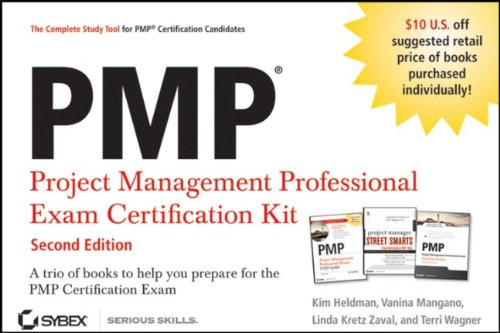 PMP Project Management Professional Exam Certification Kit  2nd 2011 9781118093900 Front Cover