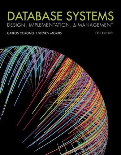 Database Systems: Design, Implementation, & Management  2018 9781337627900 Front Cover