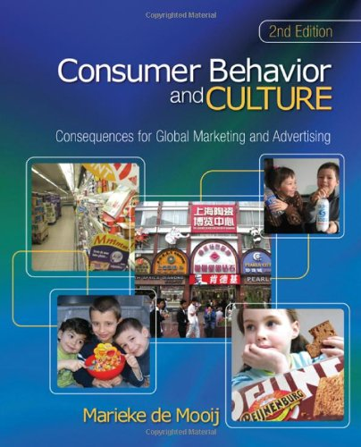 Consumer Behavior and Culture Consequences for Global Marketing and Advertising 2nd 2011 edition cover