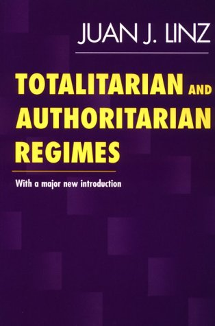 Totalitarian and Authoritarian Regimes   2000 edition cover
