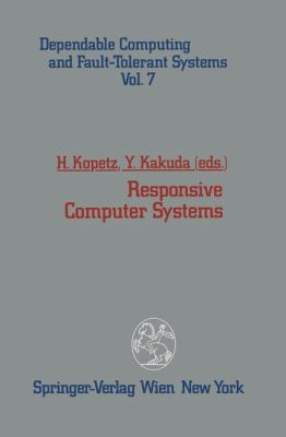 Responsive Computer Systems   1993 9783709192900 Front Cover