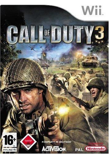 Call of Duty 3 Nintendo Wii artwork