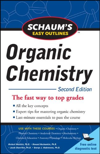 Organic Chemistry The Fast Way to Top Grades 2nd 2011 edition cover