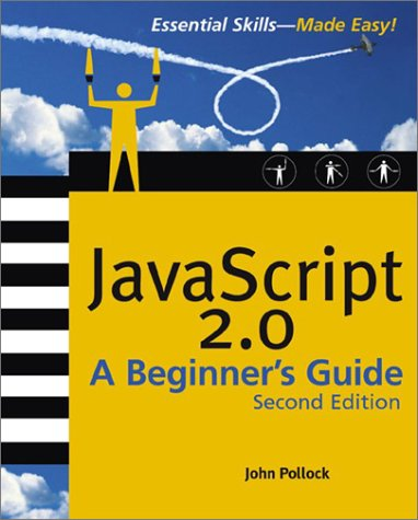 Javascript  2nd 2004 9780072227901 Front Cover