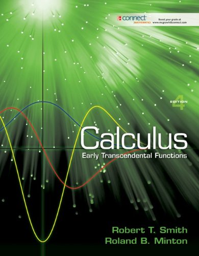 Student Solutions Manual for Calculus: Early Transcendental Functions  4th 2012 edition cover